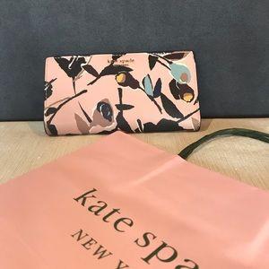 Kate Spade Cameron Street Wallet Paper Rose Pink